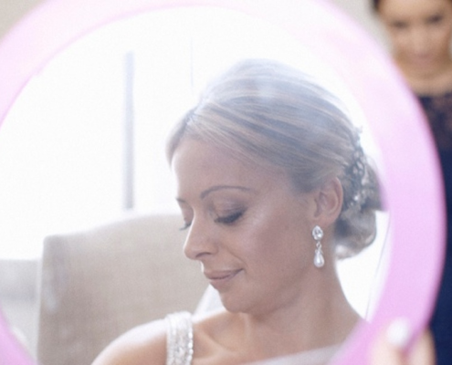 Bridal Makeup for Louise & Marco, Sydney, October 2013
