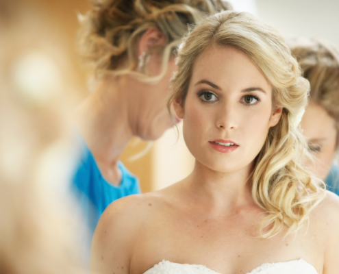 Crowne Plaza Wedding Hair for Michelle Kotzek, 2013