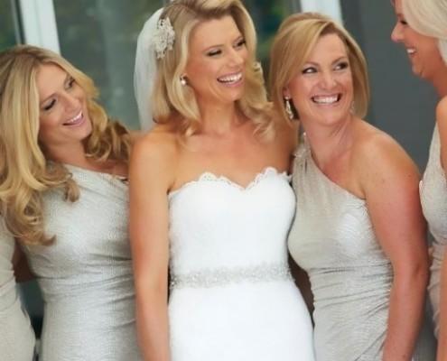 Wedding Makeup Sydney, Liz & Lachie, St Marks Church & Catalina Rose Bay,