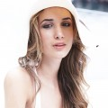 Hair and Makeup for photoshoot for Stephanie Barnes by Julie Crespel Photographer in Sydney