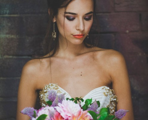 Bridal Editorial Makeup and Hair for One Fine Day - Campaign 2014
