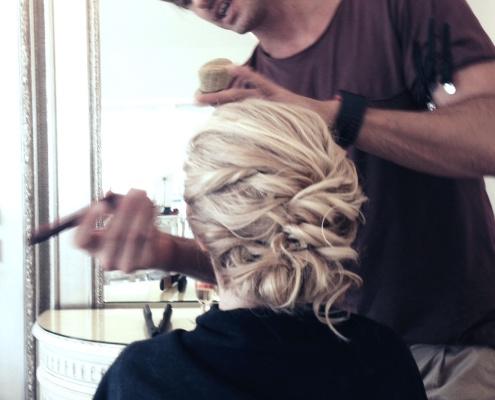 Terrara House Estate Wedding Hair Makeup for Alex Pelican